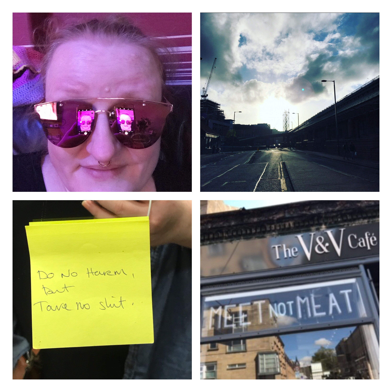 Project post it, Glasgow