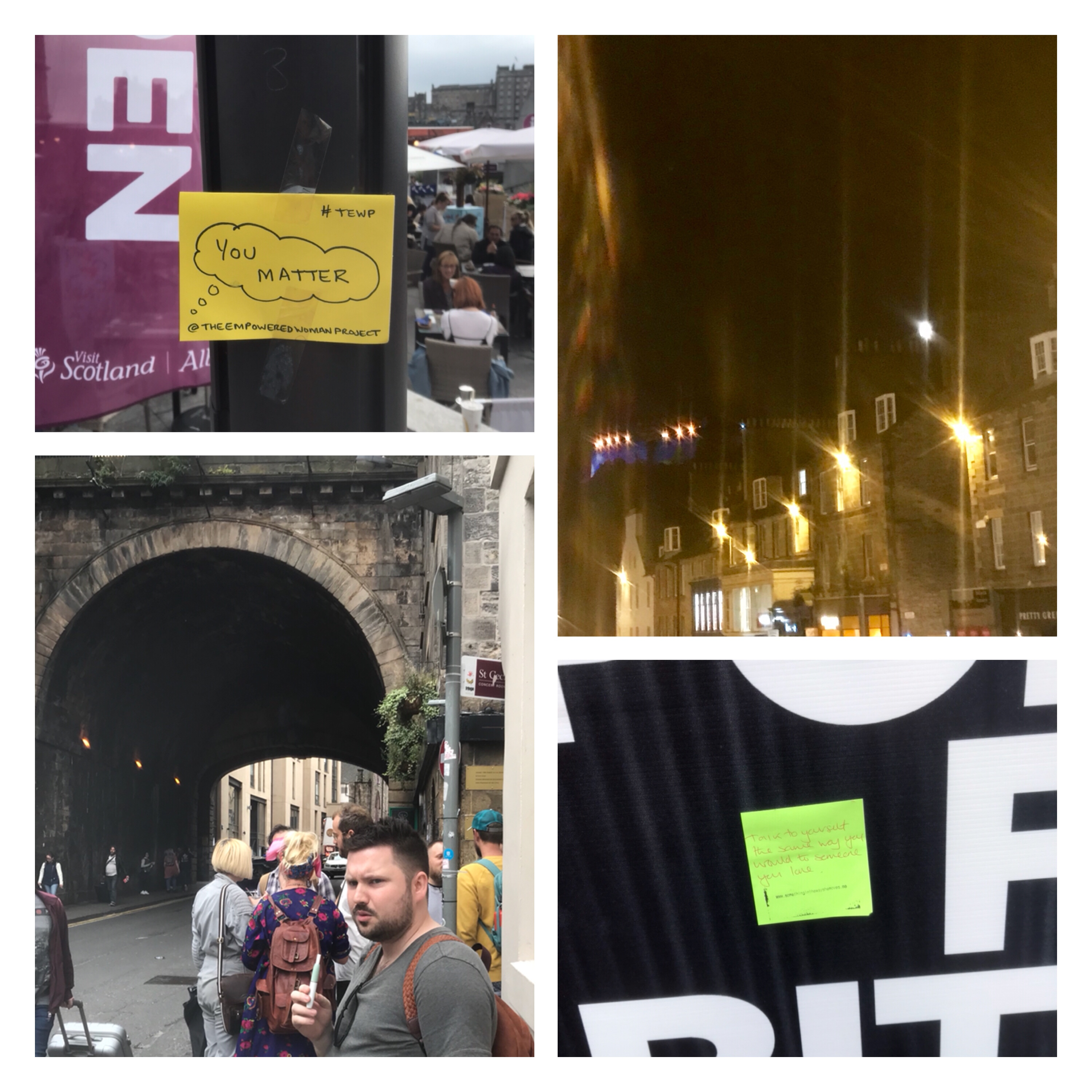 Edinburgh Fringe 2018 random sights