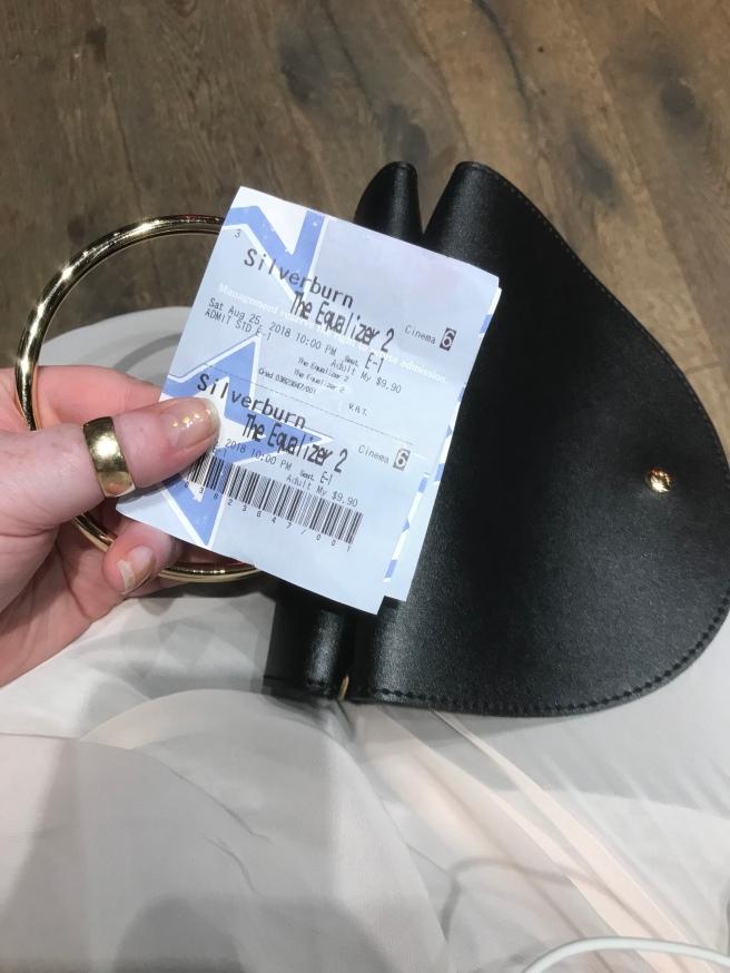 Clutch & cinema tickets