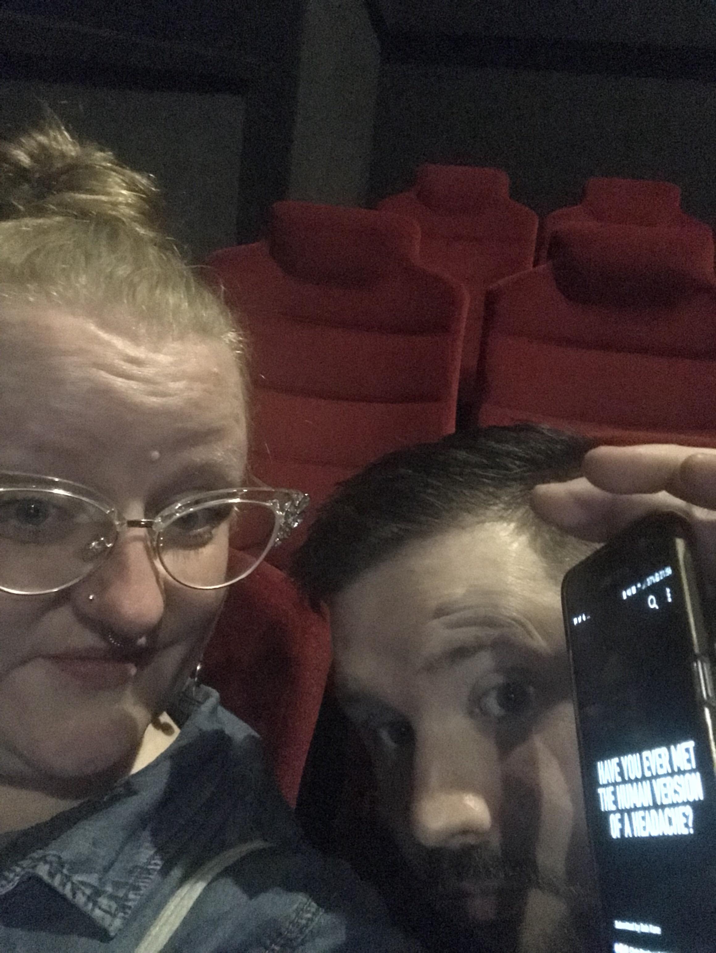 Cinema selfie ly h Kerr