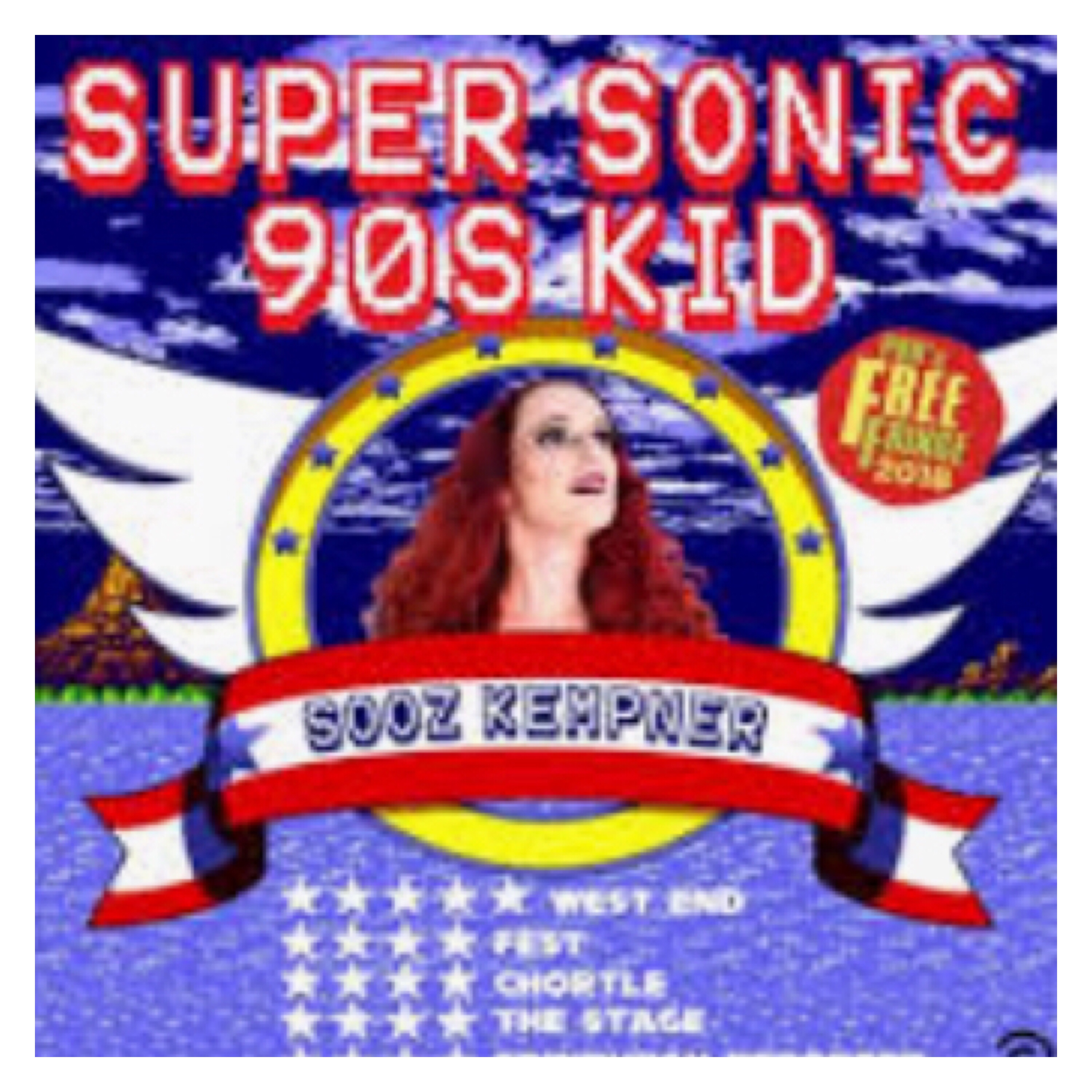 Super sonic 90's kid flyer