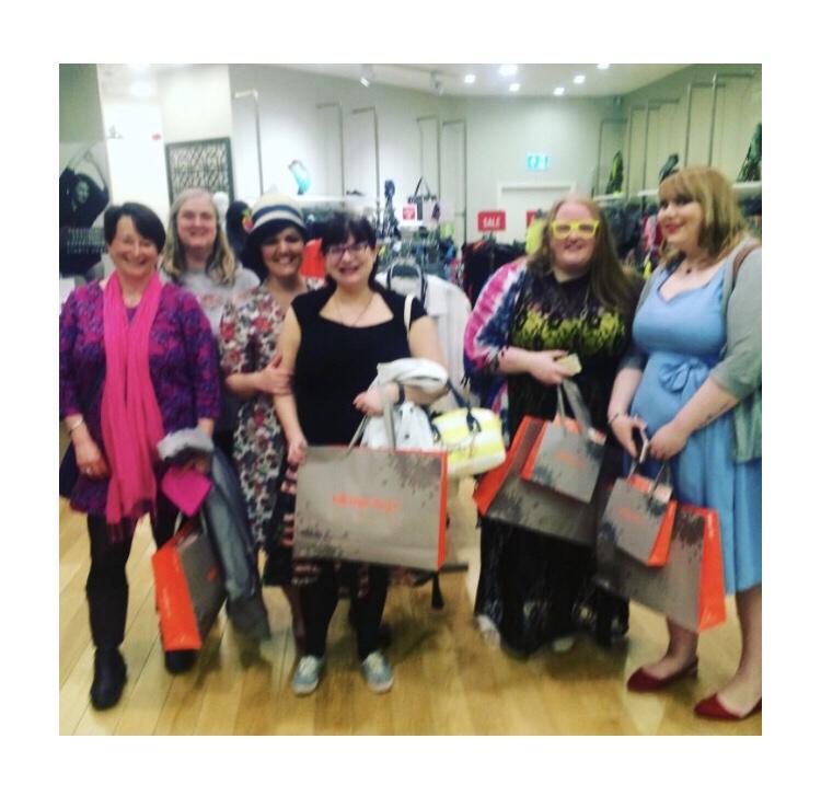 Taking Shape blogger event, Glasgow