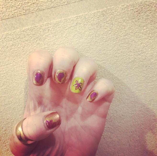 ly h Kerr, nail art