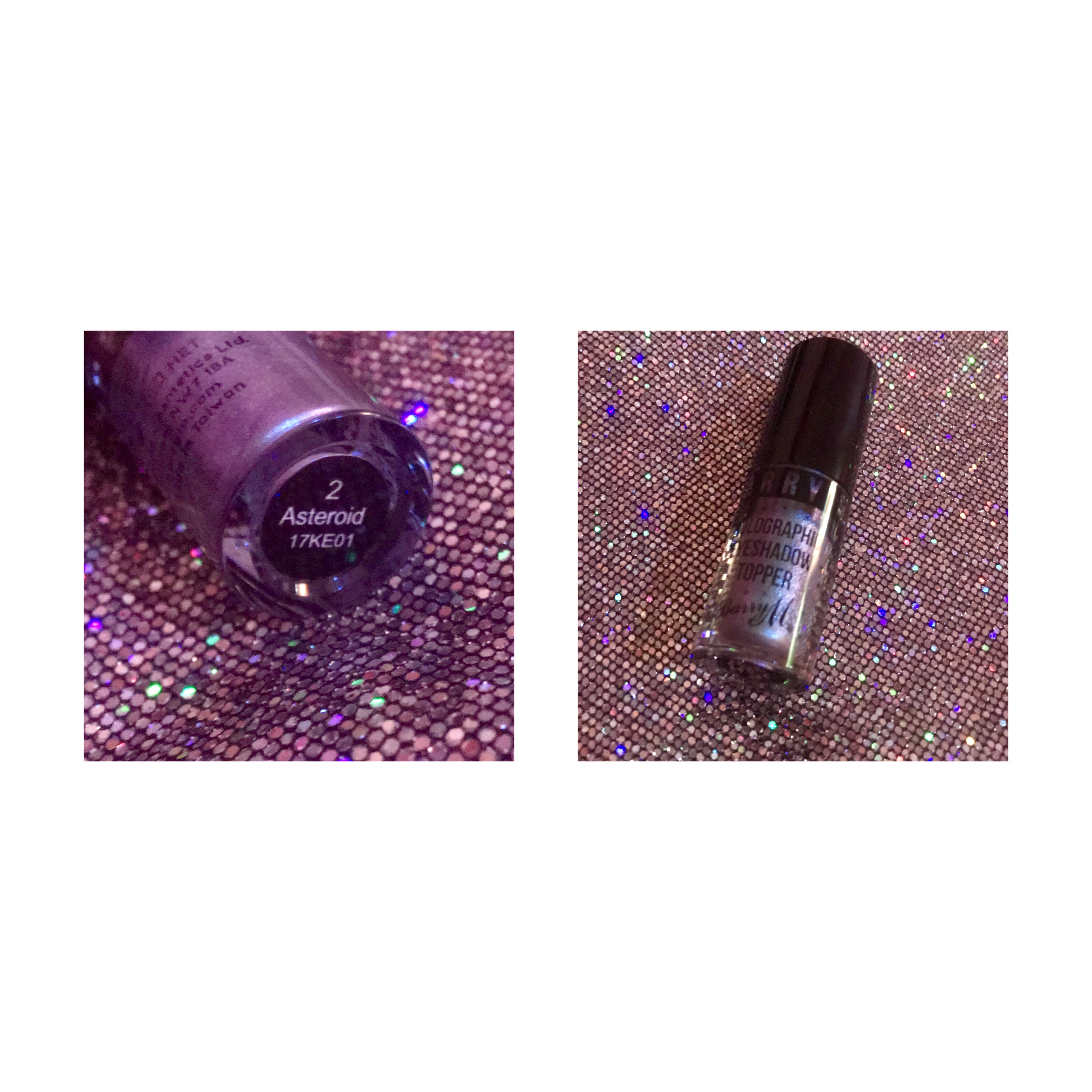Barry m holographic eyeshadow topper