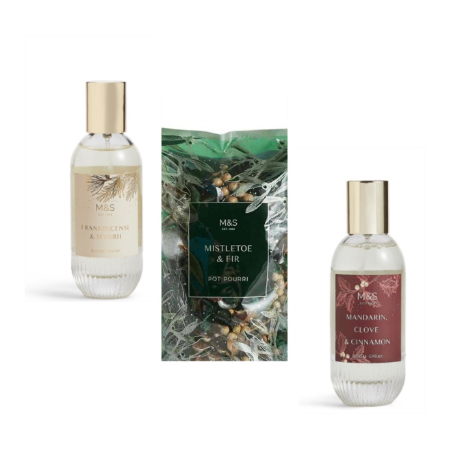 M&S Xmas fragrances