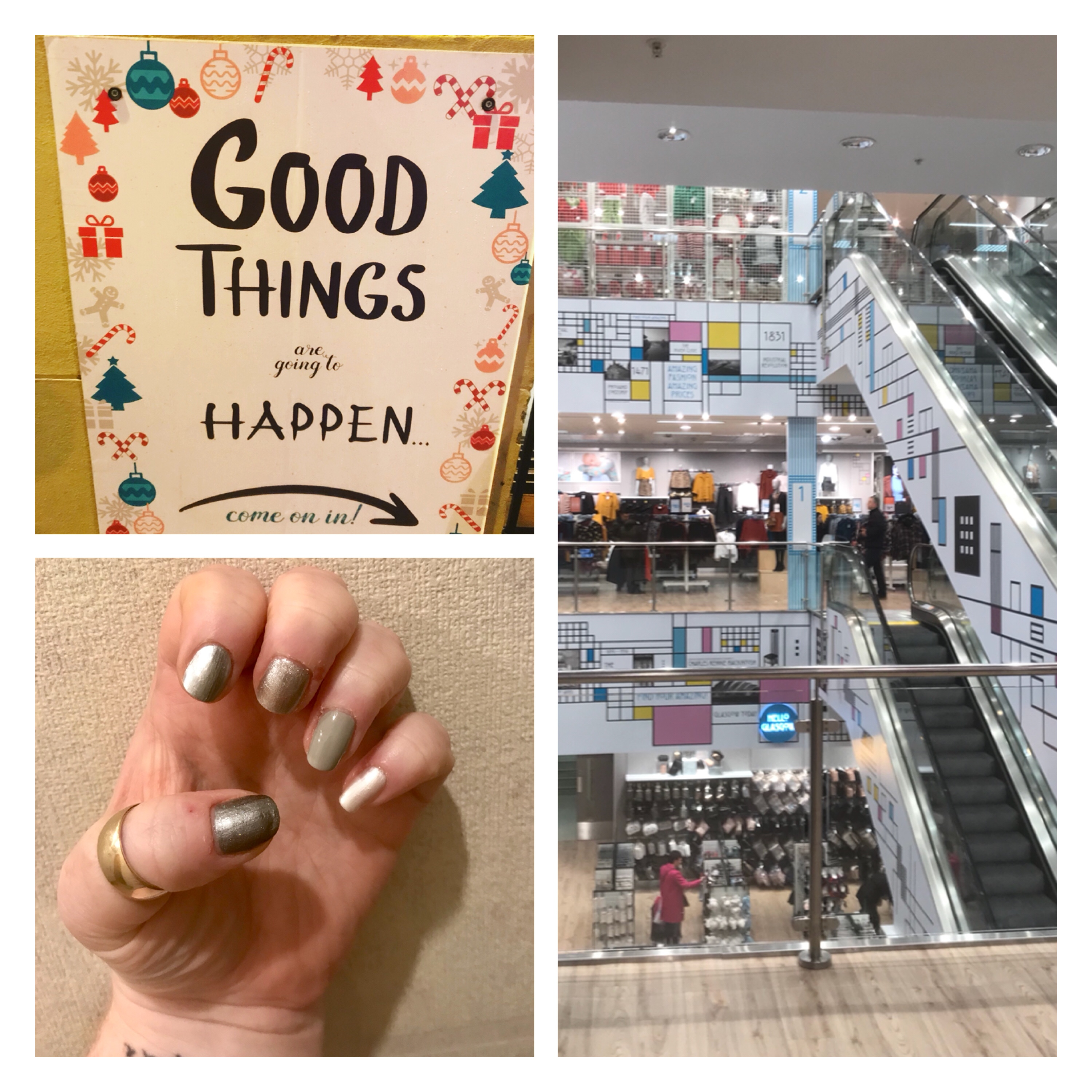 Good things, primark Glasgow