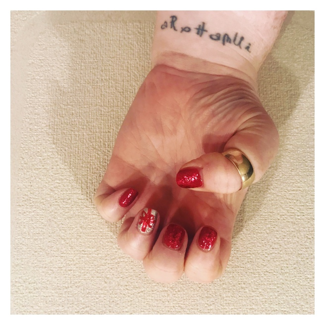 ly h kerr nail art
