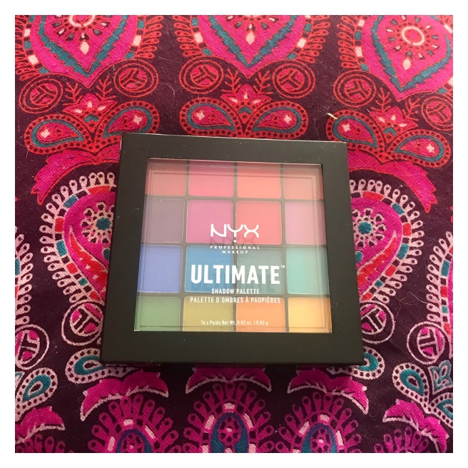 Nyx ultimate eye palette