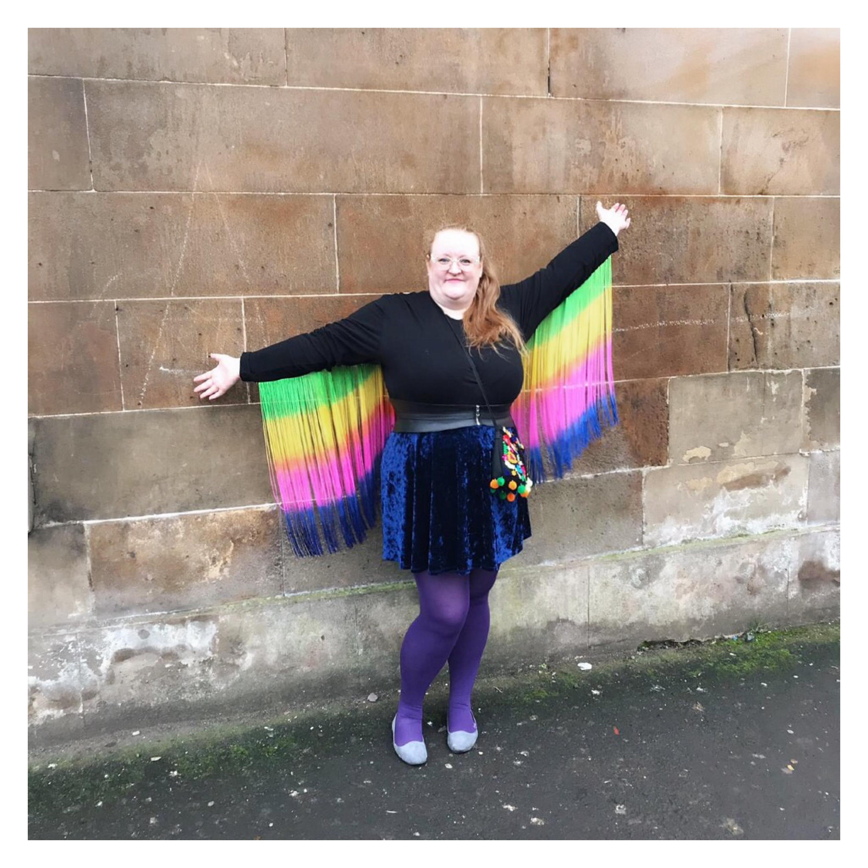 ly h Kerr rainbow wings
