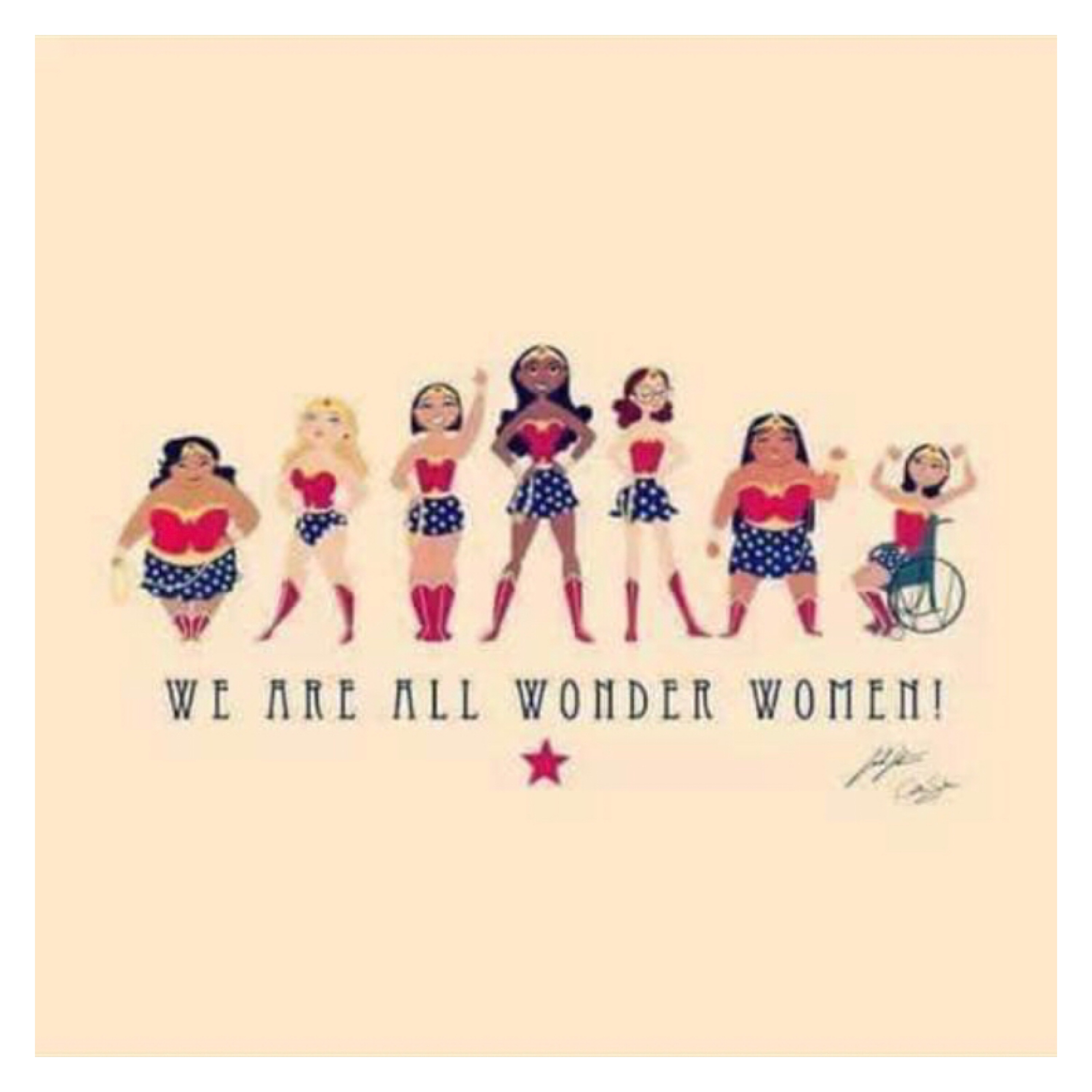 We are all Wonder Woman