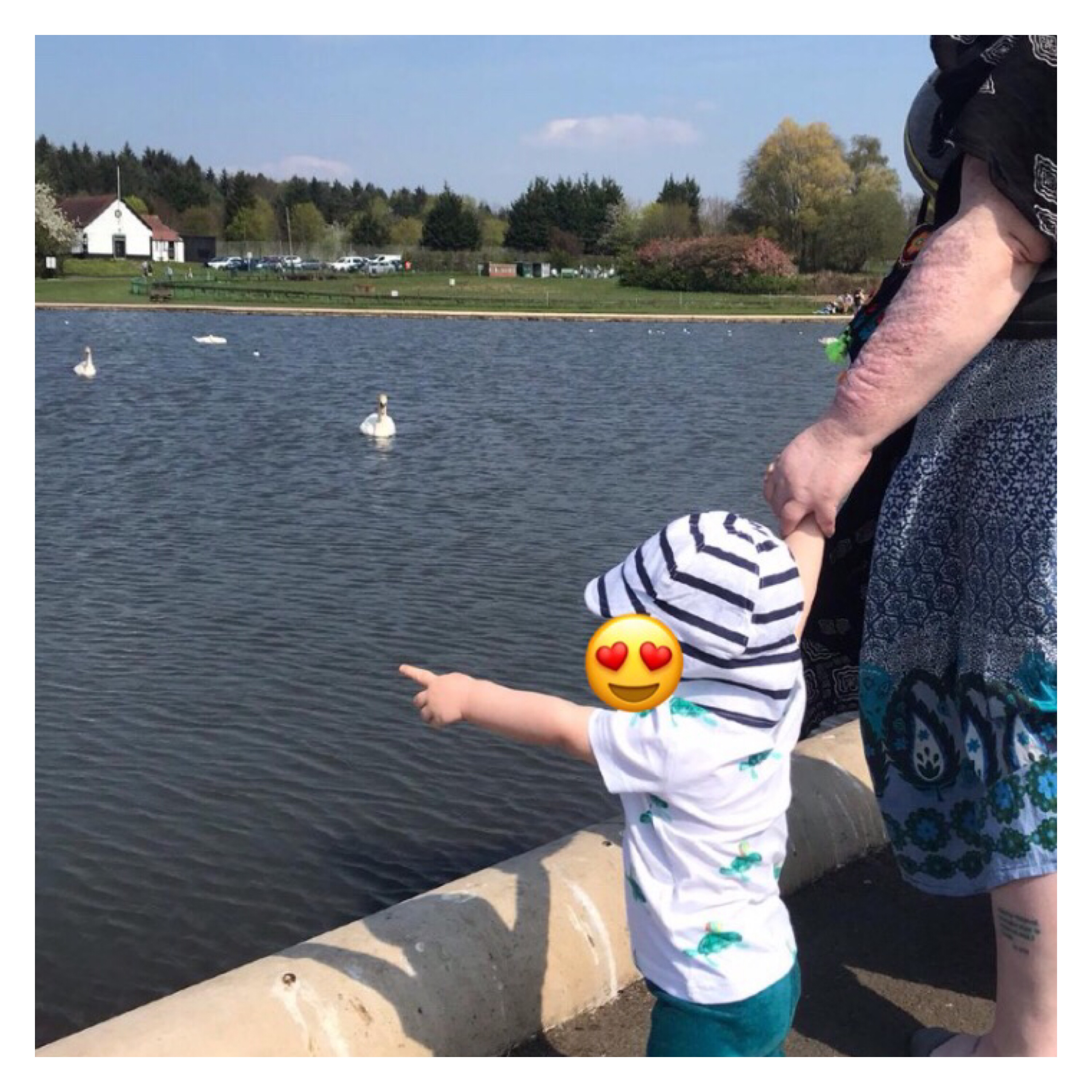 Duck spotting with the baba