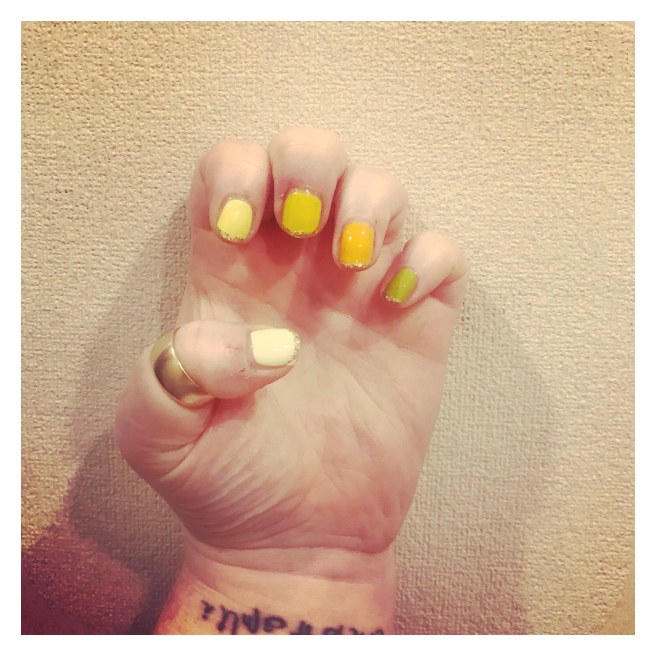 ly h Kerr citrus French manicure