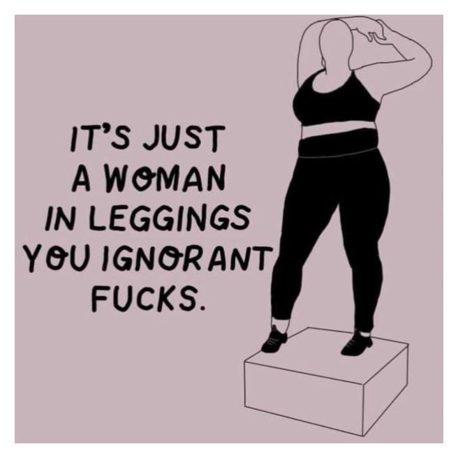 Plus size Nike mannequin