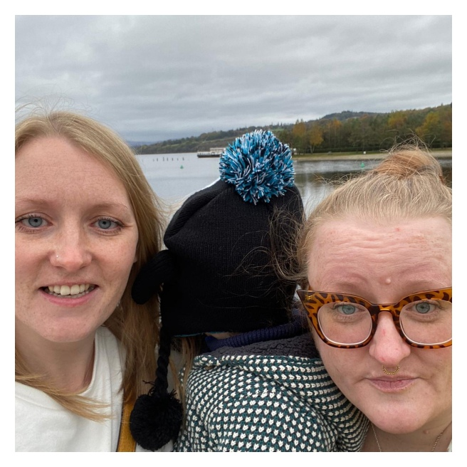 Me, my sis & nephew at Loch Lomond