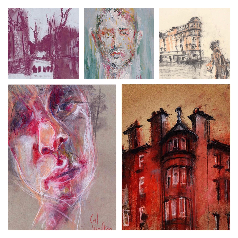 Coll Hamilton paintings