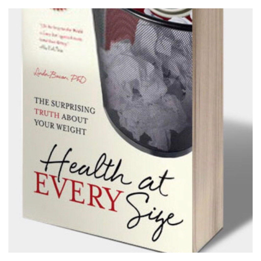 Image of book,  health at every size lindo bacon
